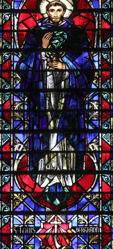 Stained Glass Window from The Church of St. Vincent Ferrer in New York City. Photo: Fr. Lawrence Lew, O.P.