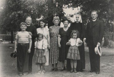 The Georges Family (Fr. Norbert Georges, O.P. is second from the left)