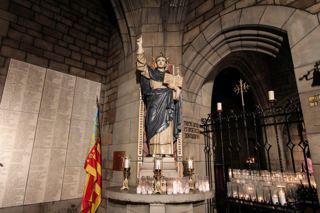 The Saint Vincent Ferrer Shrine Photo: Fr. Lawrence Lew, O.P.