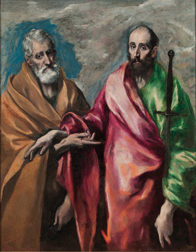 "El Greco - ""St. Peter & Paul"" (1590-1600)"